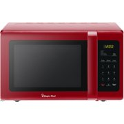 Magic Chef 0.9 Cu. Ft. 900W Countertop Microwave Oven in Red