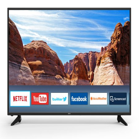 "Seiki 60"" Class 4K Ultra HD (2160p) Smart LED TV (SC-60UK850N)"