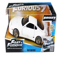 "Brian's Toyota Supra White Fast & Furious"" Movie 1/24 Diecast Car Model by Jada"""