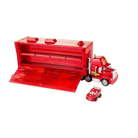 Disney/Pixar Cars Mini Racers Mack Transporter Vehicle (Mattel Pixar Cars)