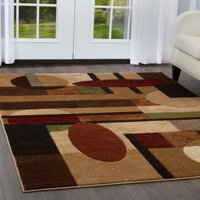 Home Dynamix Tribeca Collection Abstract Geometric Area Rug for Modern Home Decor