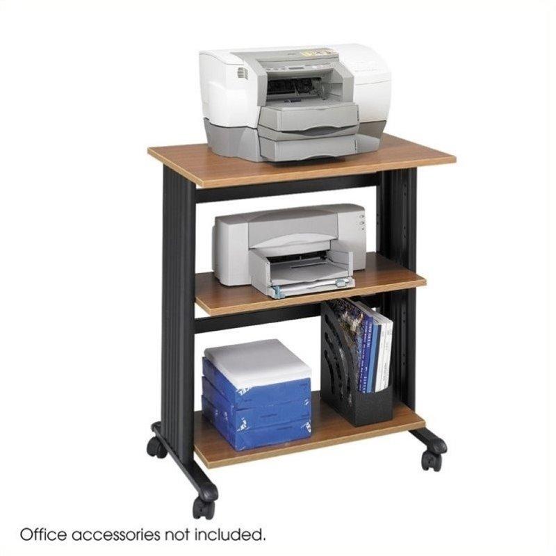 Oak Printer Stands