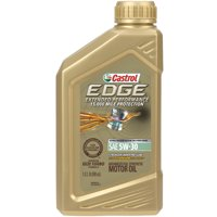 Castrol EDGE Extended Performance 5W-30 Advanced Full Synthetic Motor Oil, 1 QT