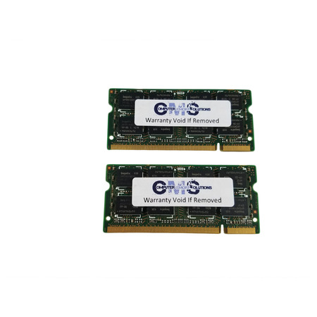 4Gb (2X2Gb) Memory Ram Sodimm Compatible With Dell Xps M1330 Notebook Ddr2 By CMS (A37)