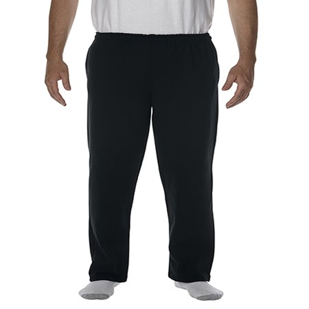 - Gildan Men's Open Bottom Pocketed Sweatpant