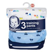 Toddler Boy Assorted Pattern Training Pants, 3-Pack