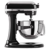 KitchenAid RRKP26M1XOB 6 Qt. Professional 600 Series Bowl-Lift Stand Mixer - Onyx Black (CERTIFIED REFURBISHED)