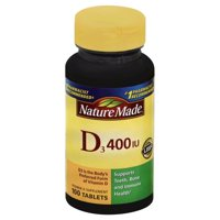 Nature Made D3 400 IU Tablets, 100 count