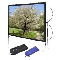 """Instahibit 77"""" 16:9 Portable Projector Screen w/ Foldable Frame Stand Movie Home Outdoor Indoor Theater"""
