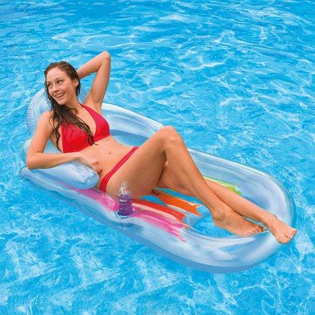 Inflatable Pool Cooler (Intex Inflatable King Kool Pool Lounge 63