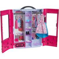 Barbie Fashionistas Ultimate Closet Portable Fashion Fun, Pink