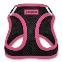 Voyager All Weather Step-in Mesh Harness for Dogs by Best Pet Supplies - Pink, X-Large