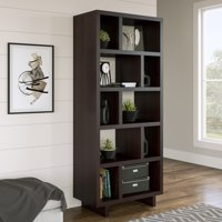 Better Homes & Gardens Steele Open Tower Bookcase, Multiple Finishes