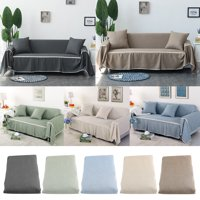 WALFRONT WALFRONT Sofa Cover Couch Covers for Chair Loveseat Sofa  Sofa Oversized Furniture Protector Washable Slip Cover Throw for Pets Kids Dogs