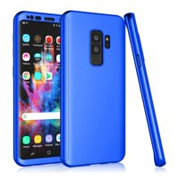 Galaxy S9 Plus Case, Samsung Galaxy S9 Plus Case Cover, Tekcoo [T360] [Blue] Ultra Thin Full Body Coverage Protection Hard Slim Hybrid Cover Shell For Samsung Galaxy S9 Plus SM-G965 6.2 inch