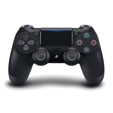 Dual Shock Black Wireless Controller (Sony Playstation 4 DualShock 4 Controller, Black, 711719504290 )