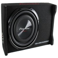 Pioneer 10 Inch 1200 Watt Shallow Mount Subwoofer Pre-Loaded Sub |  TS-SWX2502