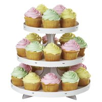 Wilton 3-Tier Cupcake Stand, White