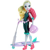 Monster High Surf-To-Turf Scooter Vehicle with Lagoona Blue Doll