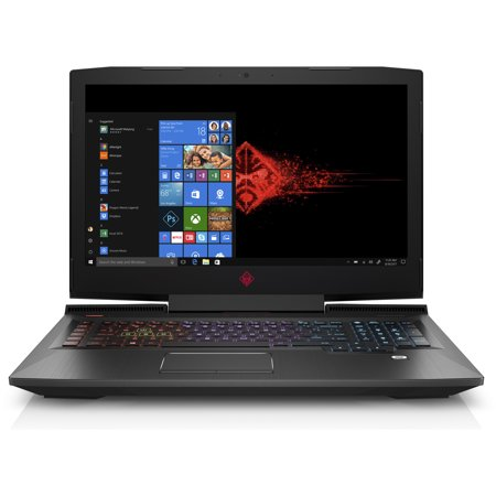 "HP OMEN 17-an120nr Gaming Laptop 17.3"", Intel Core i7-8750H, NVIDIA GeForce GTX 1060 6GB, 1TB HDD + 128GB SSD, 16GB RAM, 3WE38UA#ABA"