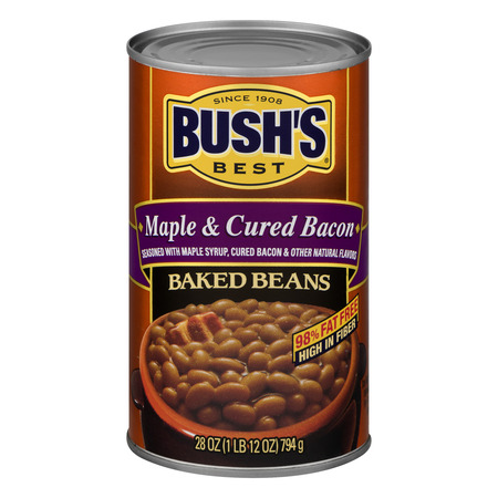 Baked Beans Bushs ((6 Pack) Bush's Best Maple Cured Baked Beans, 28 Oz)