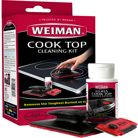 - Weiman Complete Cook Top Cleaning Kit
