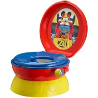 Disney Mickey Mouse 3-in-1 Potty Training Toilet, Toddler Toilet Training Set & Step Stool