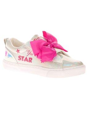 Jojo Siwa Girl's Iridescent Low Top Casual Sneaker
