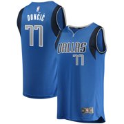 9342c35f6 Luka Doncic Dallas Mavericks Fanatics Branded Fast Break Replica Jersey  Blue - Icon Edition