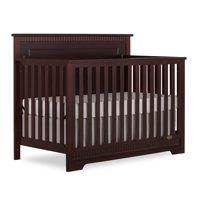 Dream On Me Morgan 5 in 1 Convertible Crib, Cherry