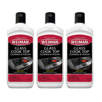 (2 Pack) Weiman Glass Cook Top Cleaner, 15 Oz
