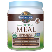 Garden of Life Raw Organic Meal Chocolate 17.9oz (1lb 2 oz / 509g) Powder