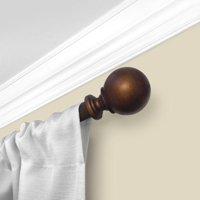 "Mainstays 1"" Diameter Decorative Curtain Rod with Ball Finial"