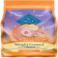 Blue Buffalo BLUE Weight Control All Breeds Adult Dry Cat Food, Chicken & Brown Rice Recipe, 15-lb