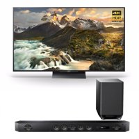 """Sony Z9D 75"""" 4K HDR Ultra-High Definition Android TV w/ Sound Bar Speaker System"""