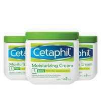(3 Pack) Cetaphil Body Dry Sensitive Skin Moisturizing Cream, 16 Oz.