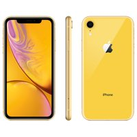 Walmart Family Mobile Apple iPhone XR w/64GB, Yellow