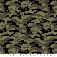 """David Textiles Camouflage Cotton Fabric By The Yard, 44"""" Wide"""