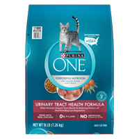 Purina ONE Urinary Tract Health Adult Dry Cat Food, 16 lb