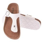 Seranoma Thong Sandal For Women – Platform Slide Sandals With Cork Wedge Sole And Microfiber Insole, Buckle Closure, Easy Slip On, Comfortable Design For Spring And Summer, Boho Style