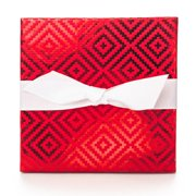Give-A-Gift Red Diamonds Gift Card Holder Box