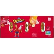 Dannon Danimals Strawberry Explosion & Swingin' Strawberry Banana Smoothies, 3.1 fl oz, 18 ct