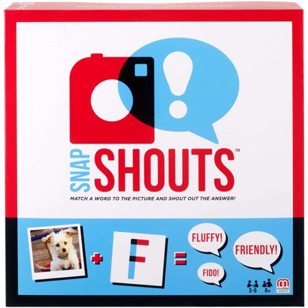 SnapShouts Caption-and-Guessing Game for 3-6 Players Ages - Guessing Game