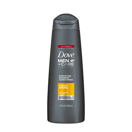 Mens Stamp (Dove Men+Care 2 in 1 Shampoo and Conditioner Thick and Strong 12 oz)