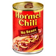 (4 pack) Hormel Chili No Beans, 15 Ounce
