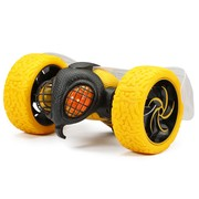 "New bright rc stunt 10"" inch radio control usb charging tumblebee - yellow"