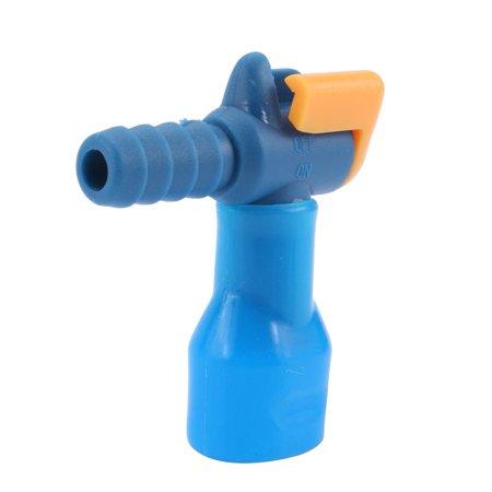 Camelbak Big Bite Valve Mouthpiece - Portable General 90° Silicone Bite Valve Hydration Pack Nozzle Bladder Outdoor, Hydration Nozzle, Silicone Blue Nozzle