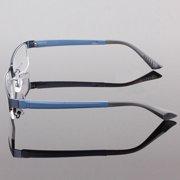 3f1b41a59cb MUXUAN Clear Lens Eye Glasses Frame Mens Durable Eyewear Metal Frame  Eyeglasses