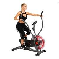 Sunny Health & Fitness Air Fan Bike Trainer Indoor Cycle- SF-B2640