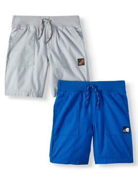 Essential Pull-On Utility Shorts, 2-Piece Multi-Pack Set (Little Boys & Big Boys)